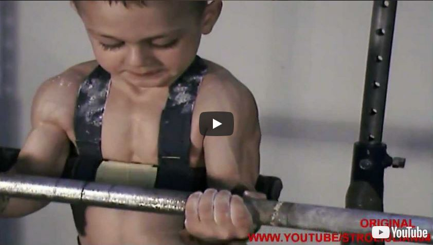 Extremely Strong Bodybuilding Kids are All-Natural, Say No to Steroids!